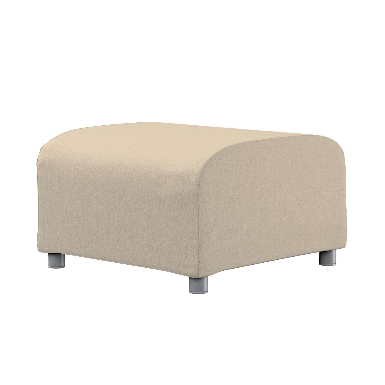 KLIPPAN pufo užvalkalas Klippan footstool cover kolekcijoje Edinburgh , audinys: 115-78