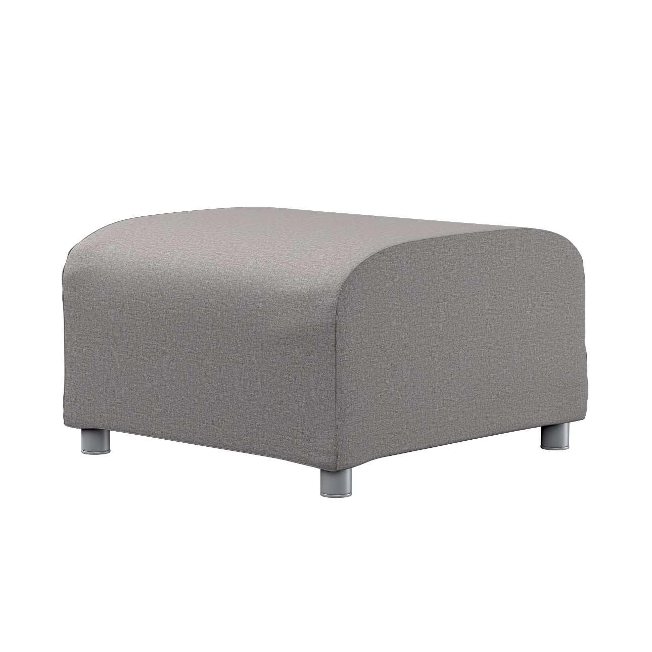 KLIPPAN pufo užvalkalas Klippan footstool cover kolekcijoje Edinburgh , audinys: 115-81