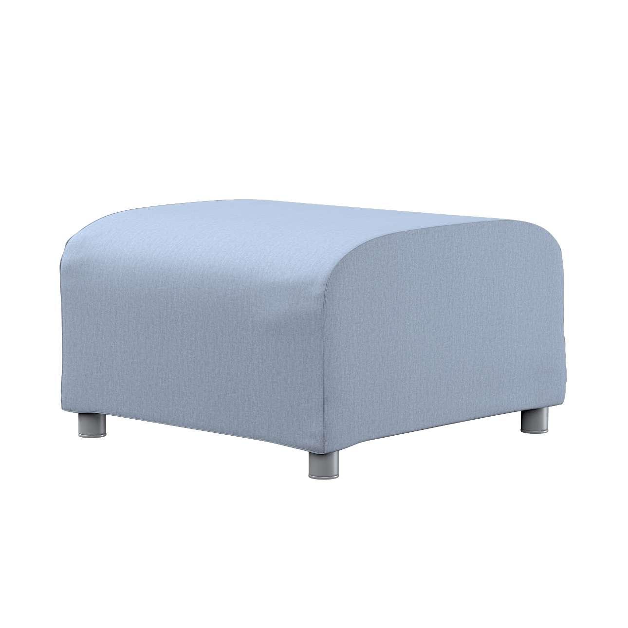 KLIPPAN pufo užvalkalas Klippan footstool cover kolekcijoje Chenille, audinys: 702-13