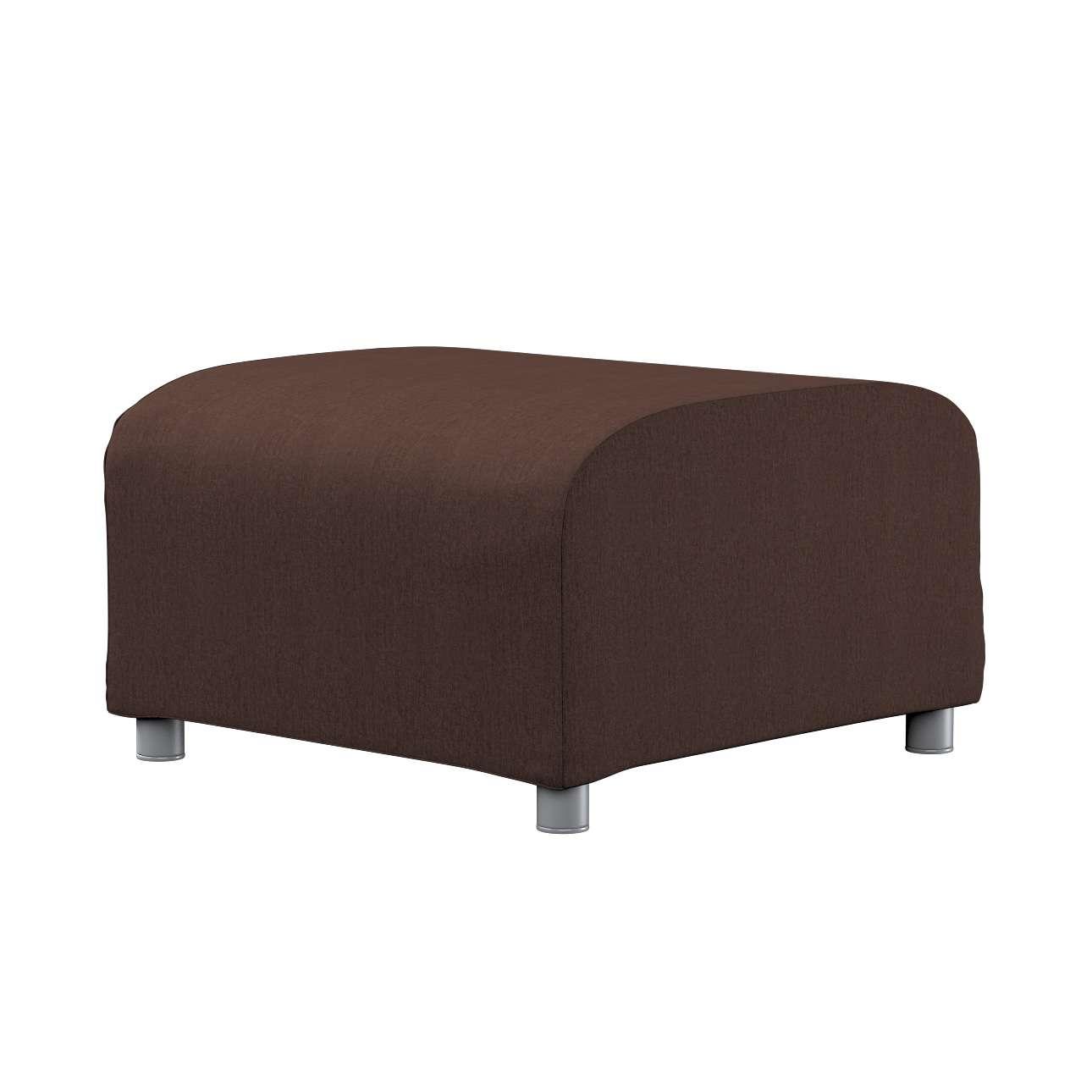 KLIPPAN pufo užvalkalas Klippan footstool cover kolekcijoje Chenille, audinys: 702-18