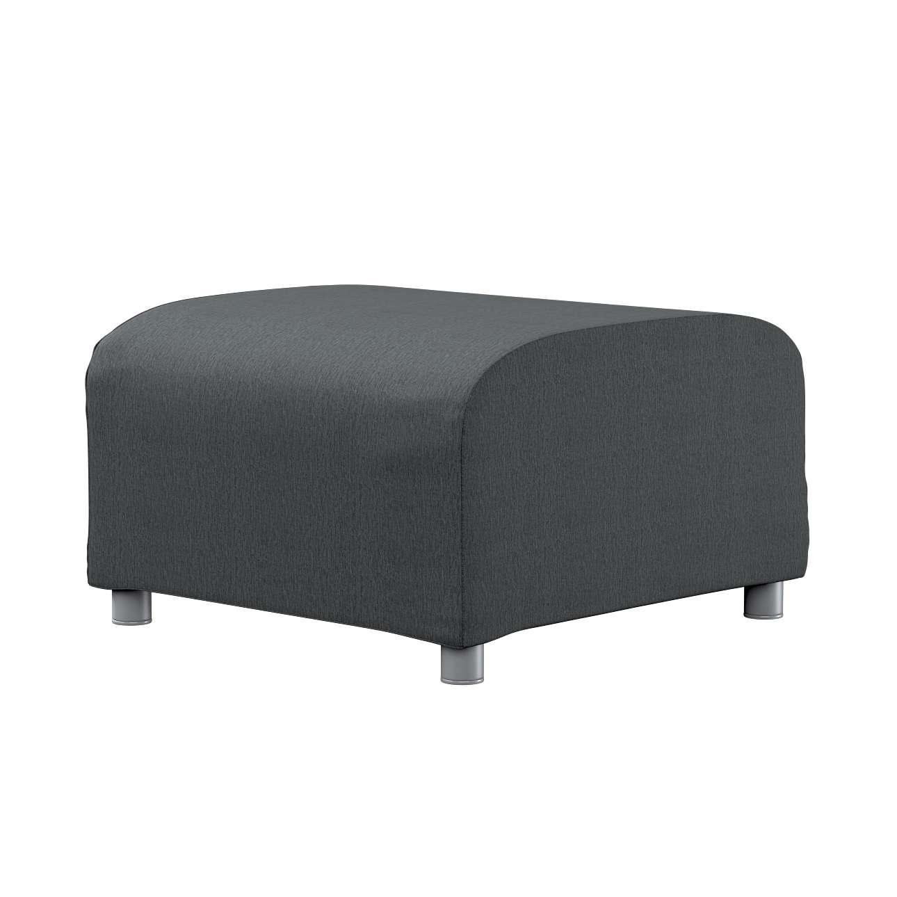 KLIPPAN pufo užvalkalas Klippan footstool cover kolekcijoje Chenille, audinys: 702-20