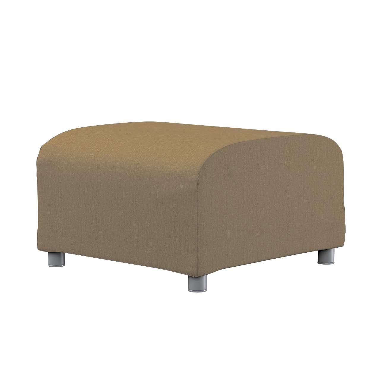KLIPPAN pufo užvalkalas Klippan footstool cover kolekcijoje Chenille, audinys: 702-21