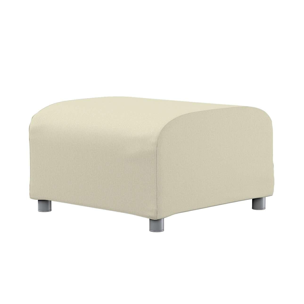 KLIPPAN pufo užvalkalas Klippan footstool cover kolekcijoje Chenille, audinys: 702-22