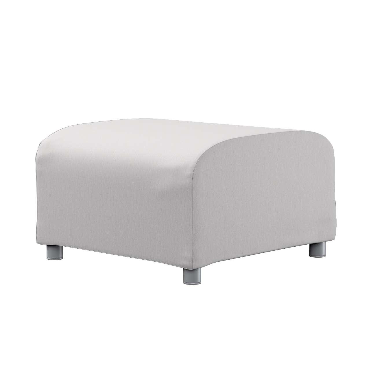 KLIPPAN pufo užvalkalas Klippan footstool cover kolekcijoje Chenille, audinys: 702-23