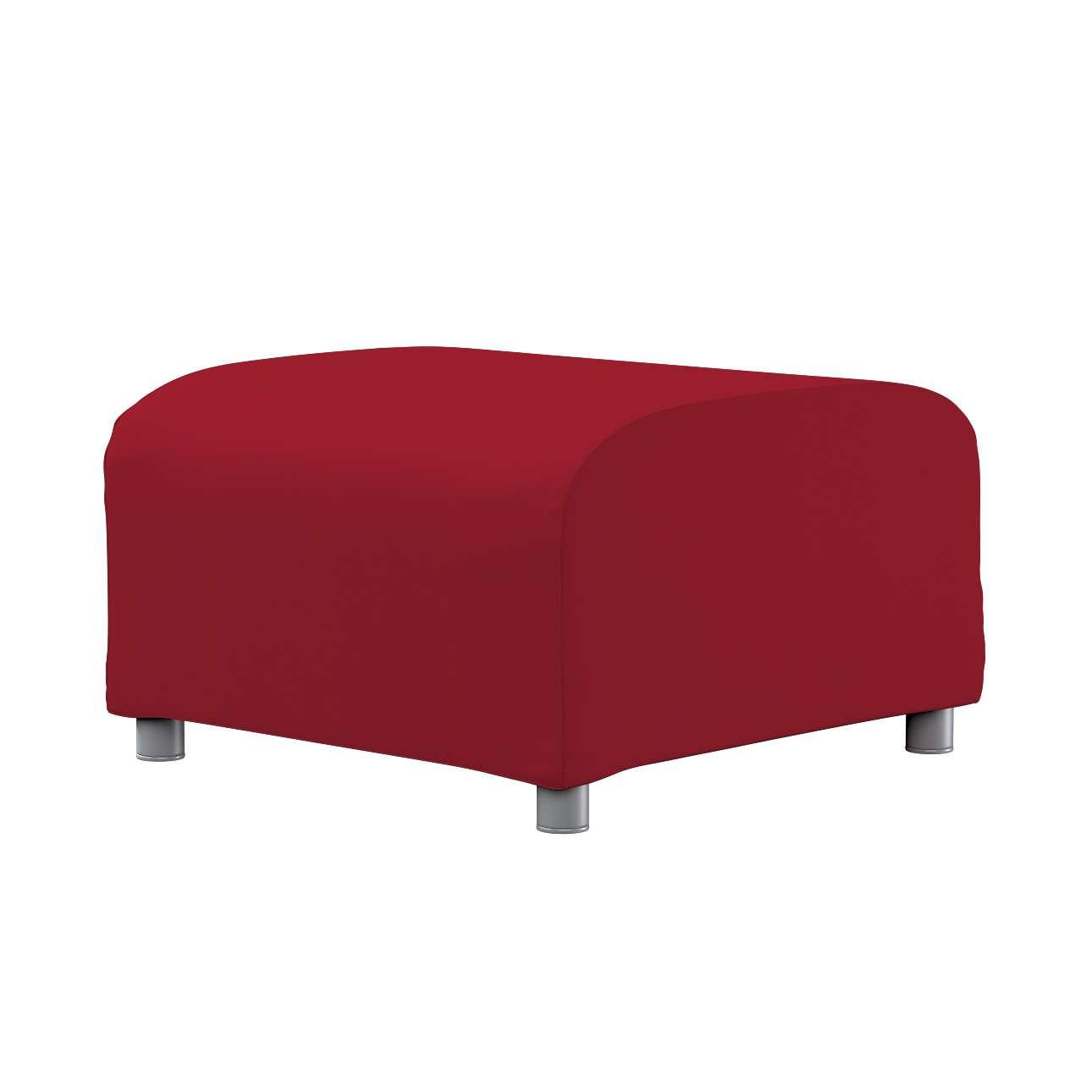 KLIPPAN pufo užvalkalas Klippan footstool cover kolekcijoje Chenille, audinys: 702-24