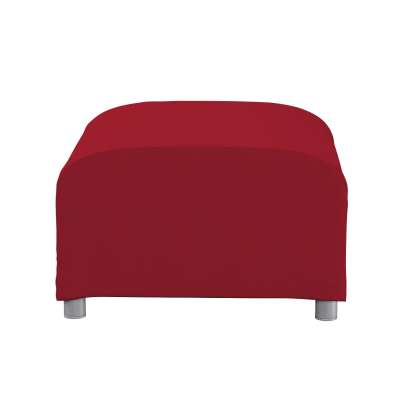 Bezug für Klippan Hocker 702-24 rot Kollektion Chenille