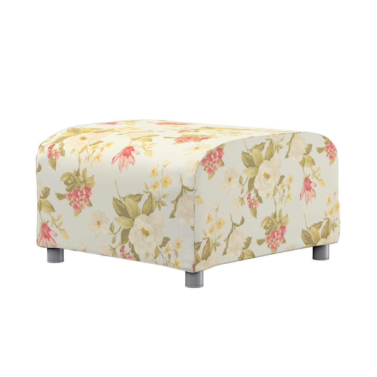 KLIPPAN pufo užvalkalas Klippan footstool cover kolekcijoje Londres, audinys: 123-65