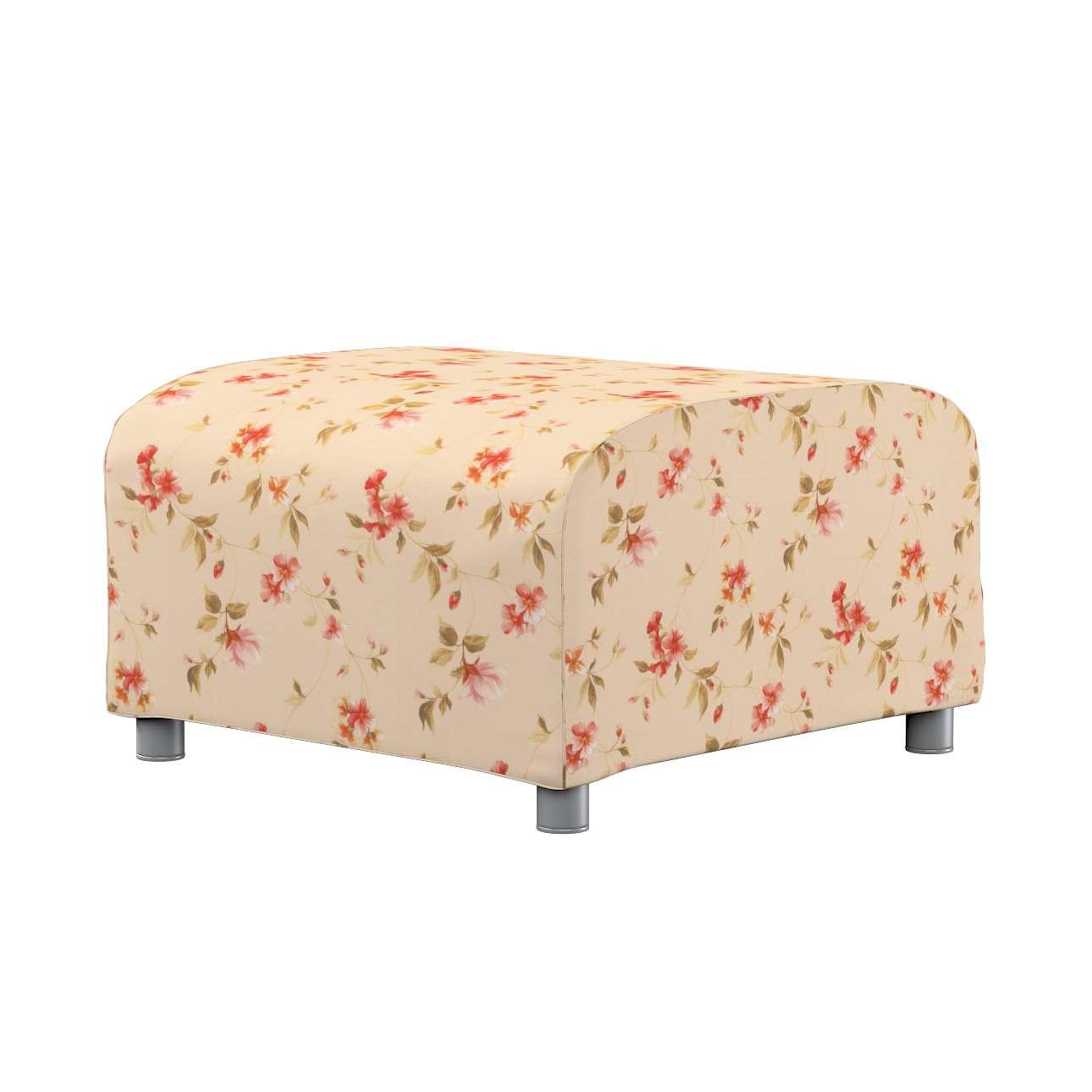 KLIPPAN pufo užvalkalas Klippan footstool cover kolekcijoje Londres, audinys: 124-05