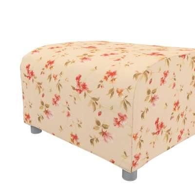 Pokrowiec na podnóżek Klippan w kolekcji Londres, tkanina: 124-05