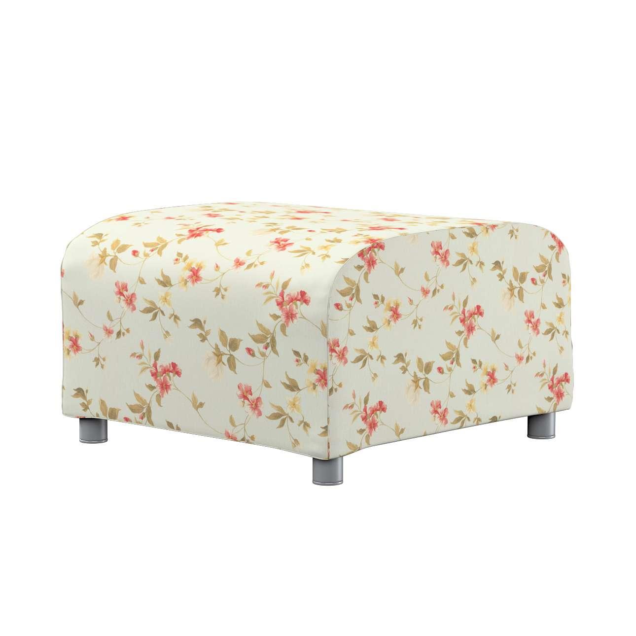 KLIPPAN pufo užvalkalas Klippan footstool cover kolekcijoje Londres, audinys: 124-65