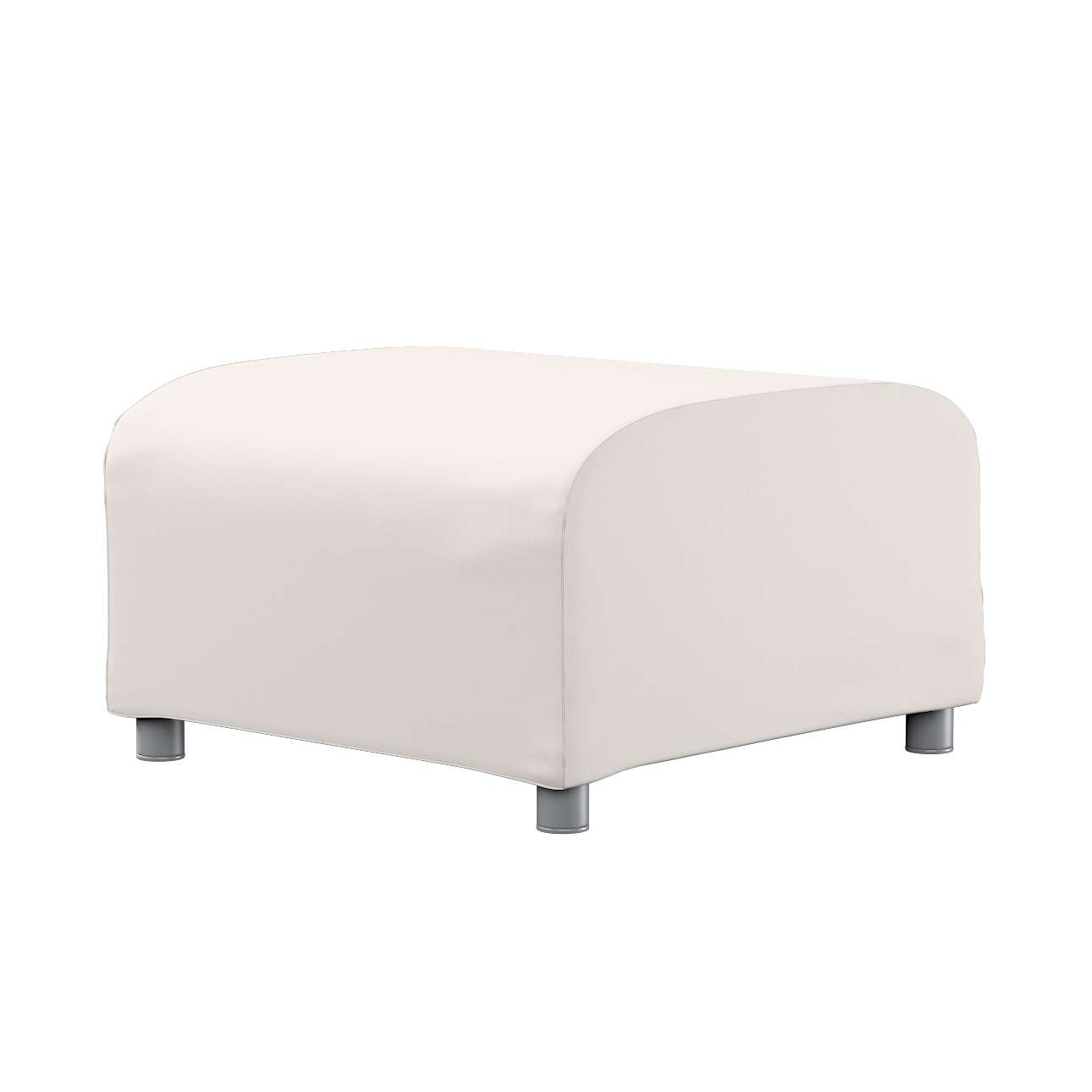 KLIPPAN pufo užvalkalas Klippan footstool cover kolekcijoje Etna , audinys: 705-01