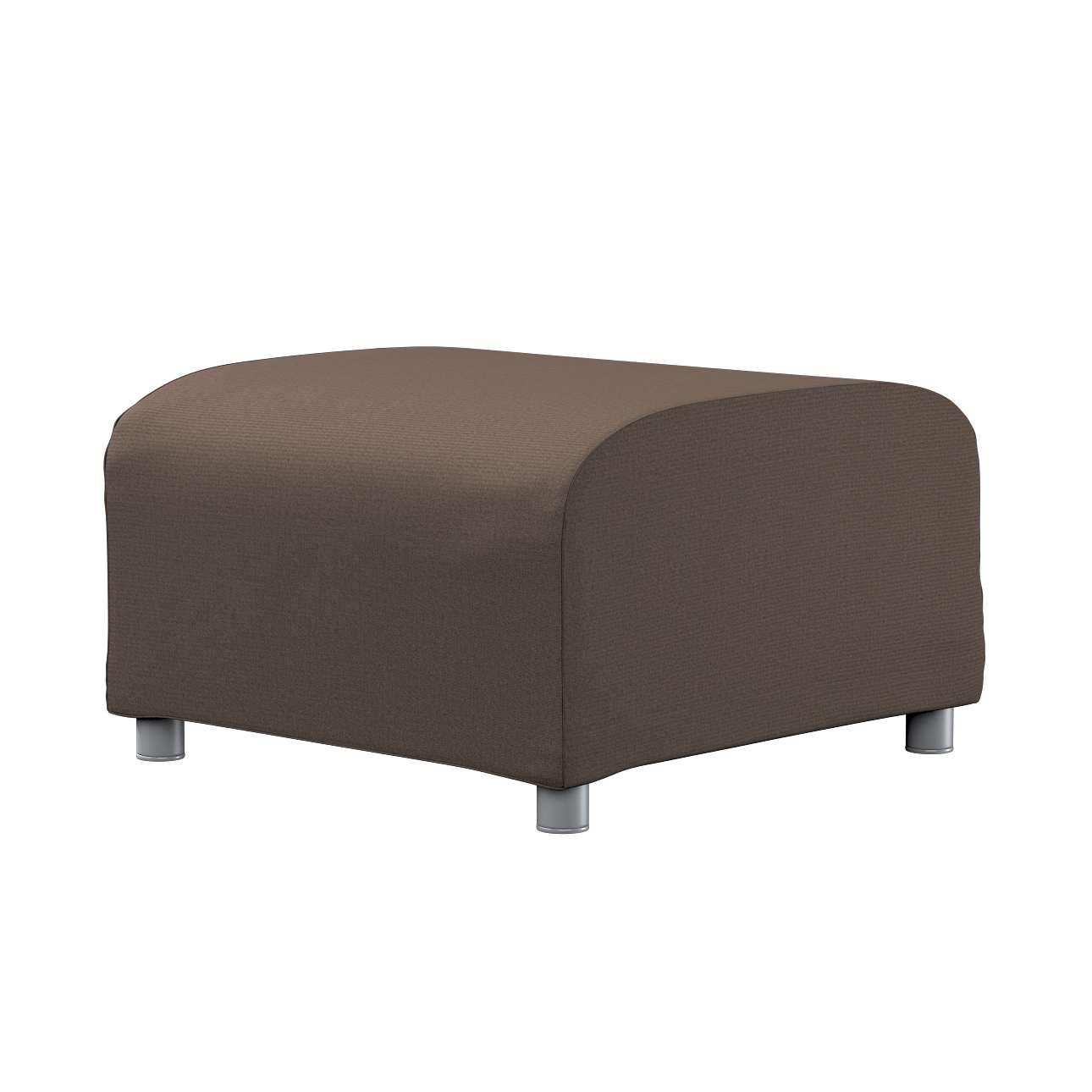 KLIPPAN pufo užvalkalas Klippan footstool cover kolekcijoje Etna , audinys: 705-08