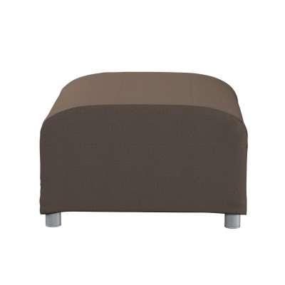 Pokrowiec na podnóżek Klippan 705-08 brązowy Kolekcja Etna