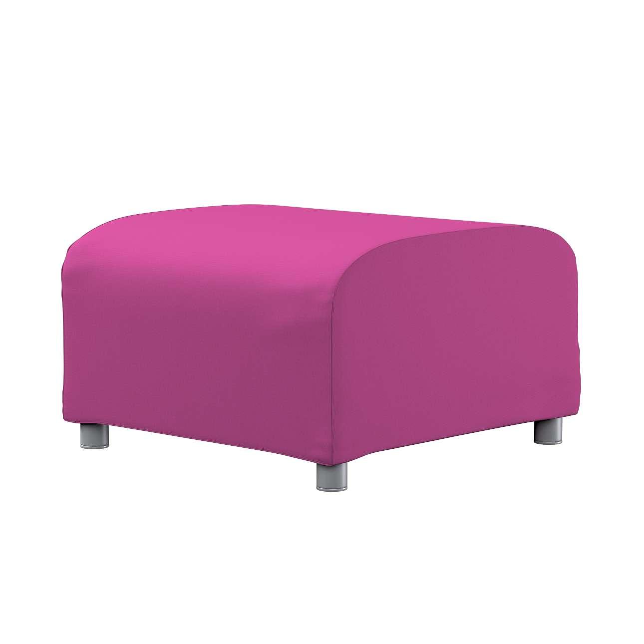 KLIPPAN pufo užvalkalas Klippan footstool cover kolekcijoje Etna , audinys: 705-23