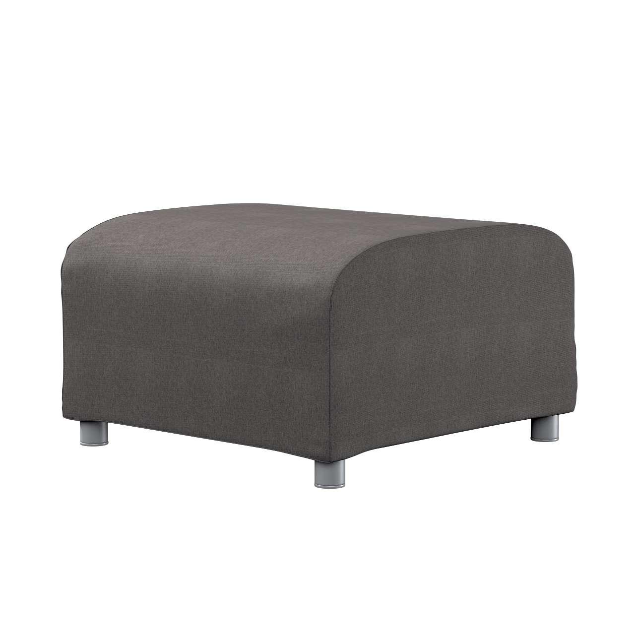 KLIPPAN pufo užvalkalas Klippan footstool cover kolekcijoje Etna , audinys: 705-35