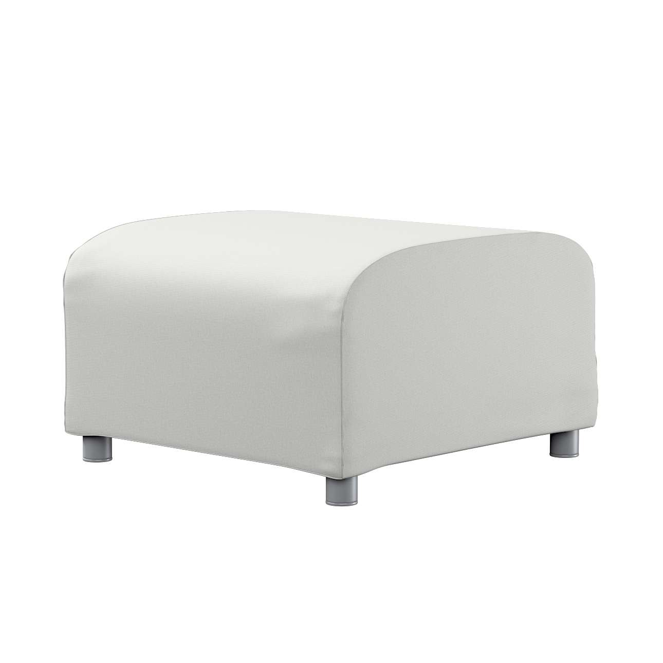 KLIPPAN pufo užvalkalas Klippan footstool cover kolekcijoje Etna , audinys: 705-90