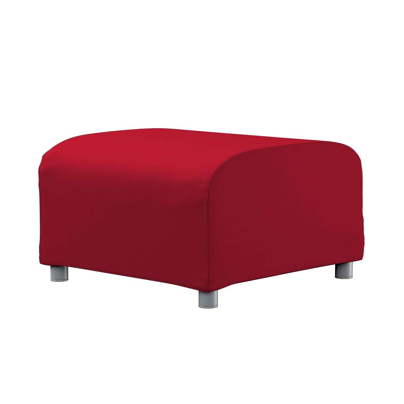 KLIPPAN pufo užvalkalas Klippan footstool cover kolekcijoje Etna , audinys: 705-60