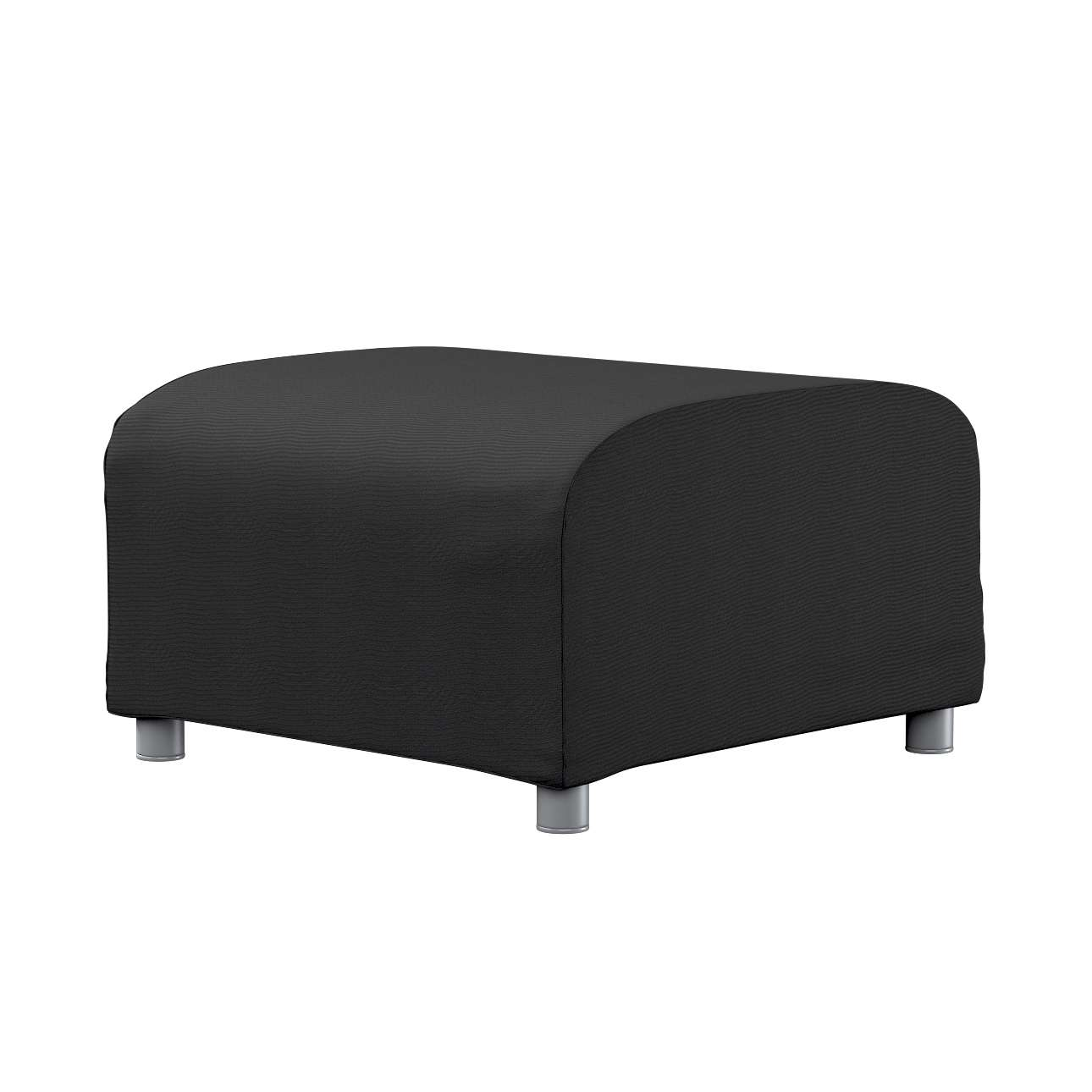 KLIPPAN pufo užvalkalas Klippan footstool cover kolekcijoje Etna , audinys: 705-00