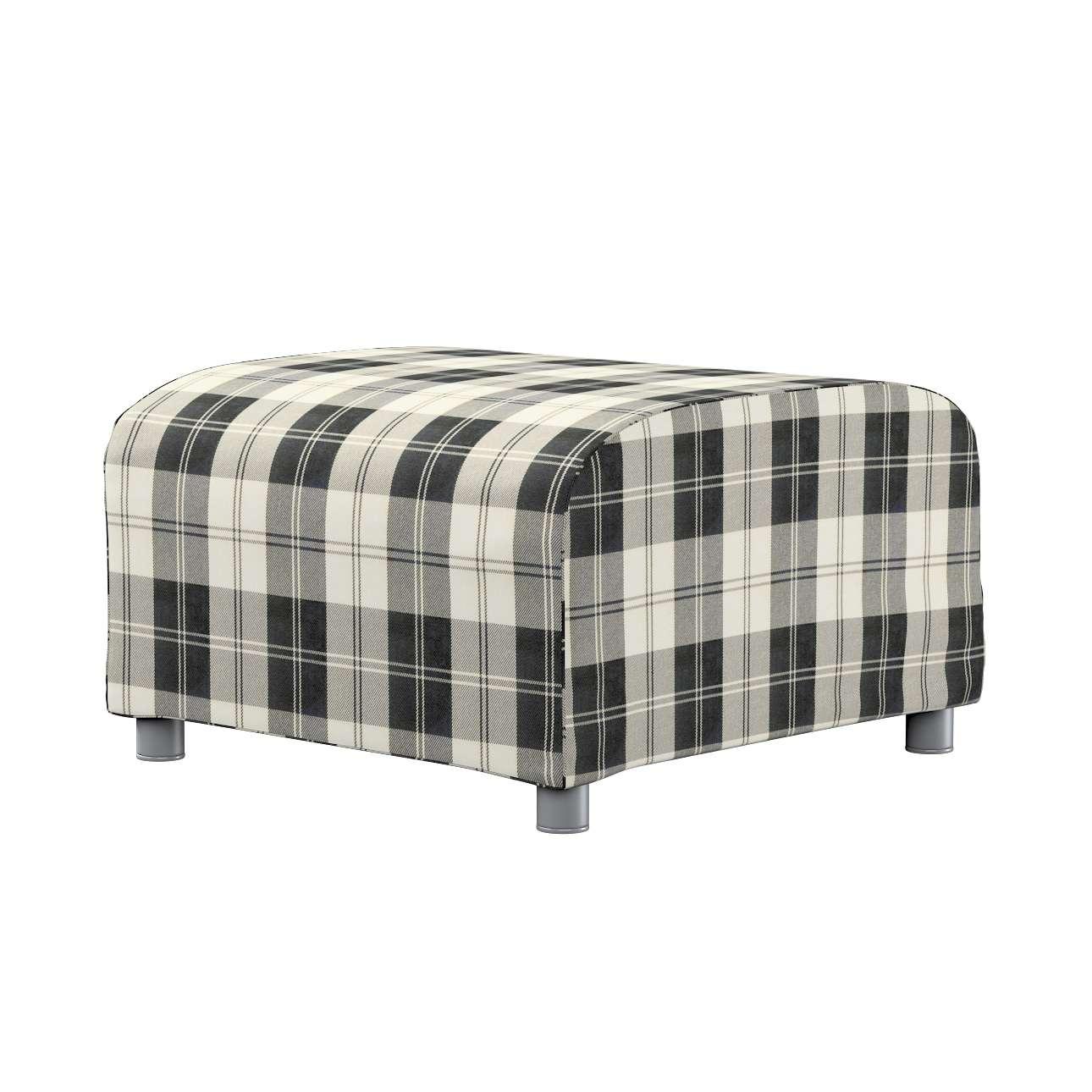 KLIPPAN pufo užvalkalas Klippan footstool cover kolekcijoje Edinburgh , audinys: 115-74