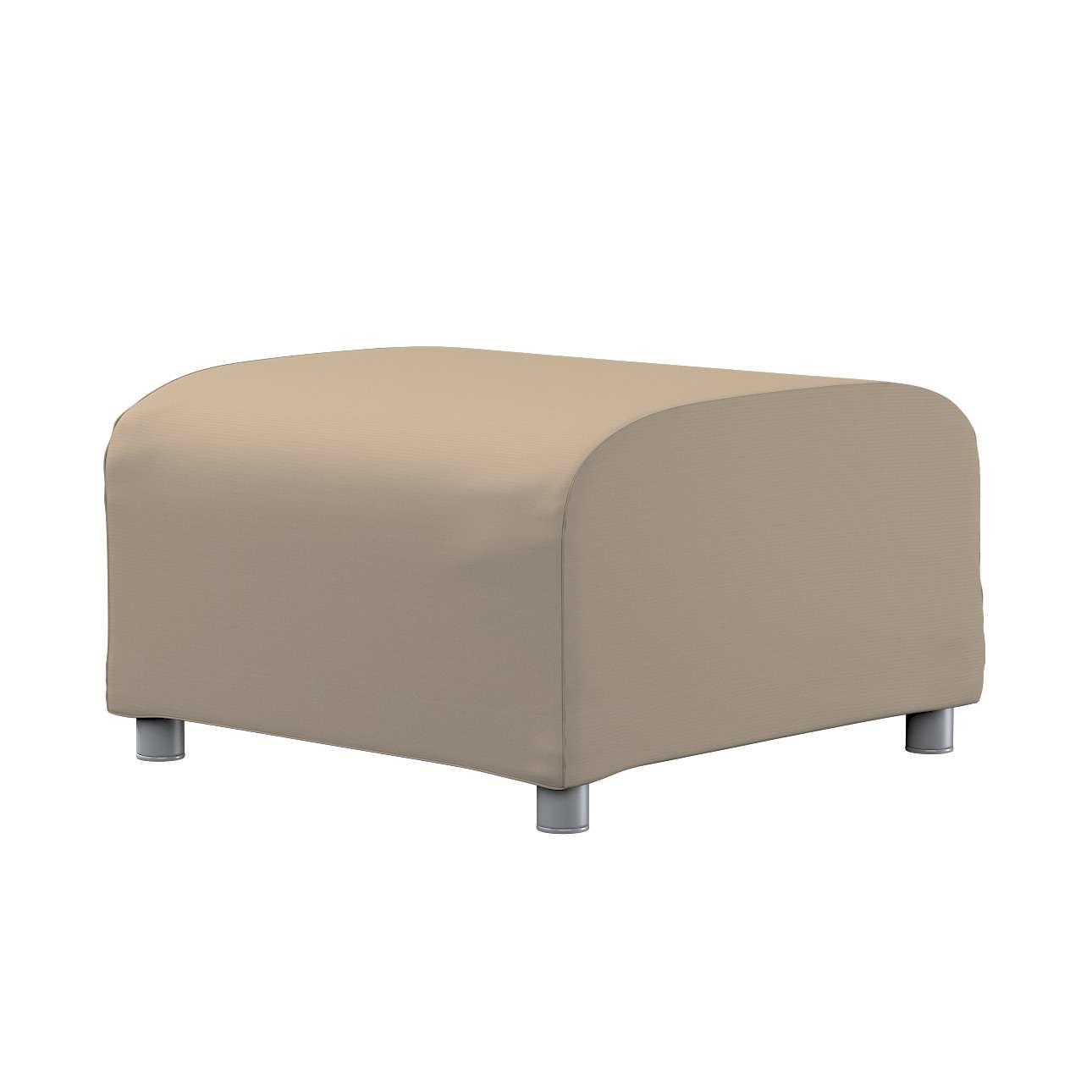 KLIPPAN pufo užvalkalas Klippan footstool cover kolekcijoje Cotton Panama, audinys: 702-28