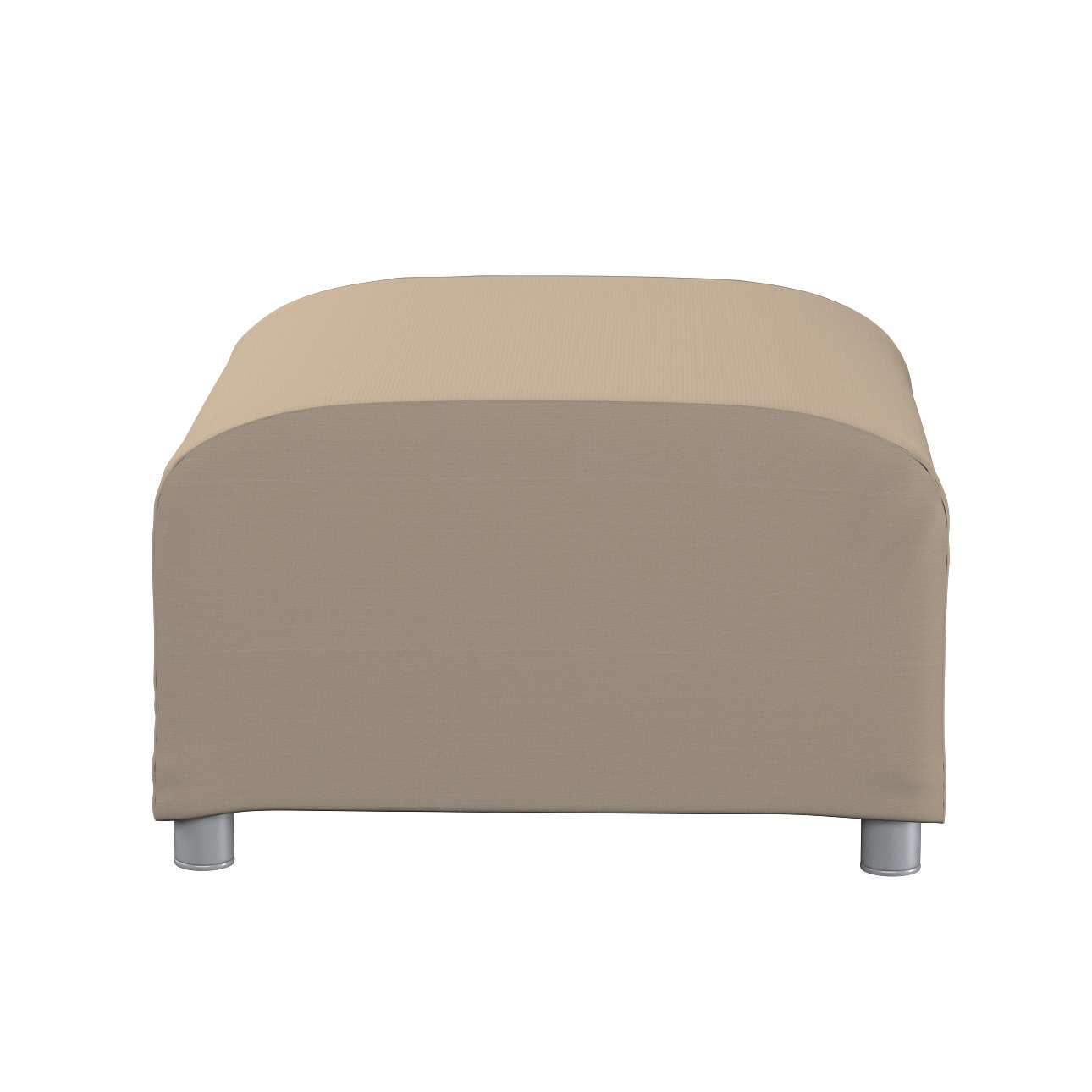 Klippan puff huzat a kollekcióból Cotton Panama Bútorszövet, Dekoranyag: 702-28