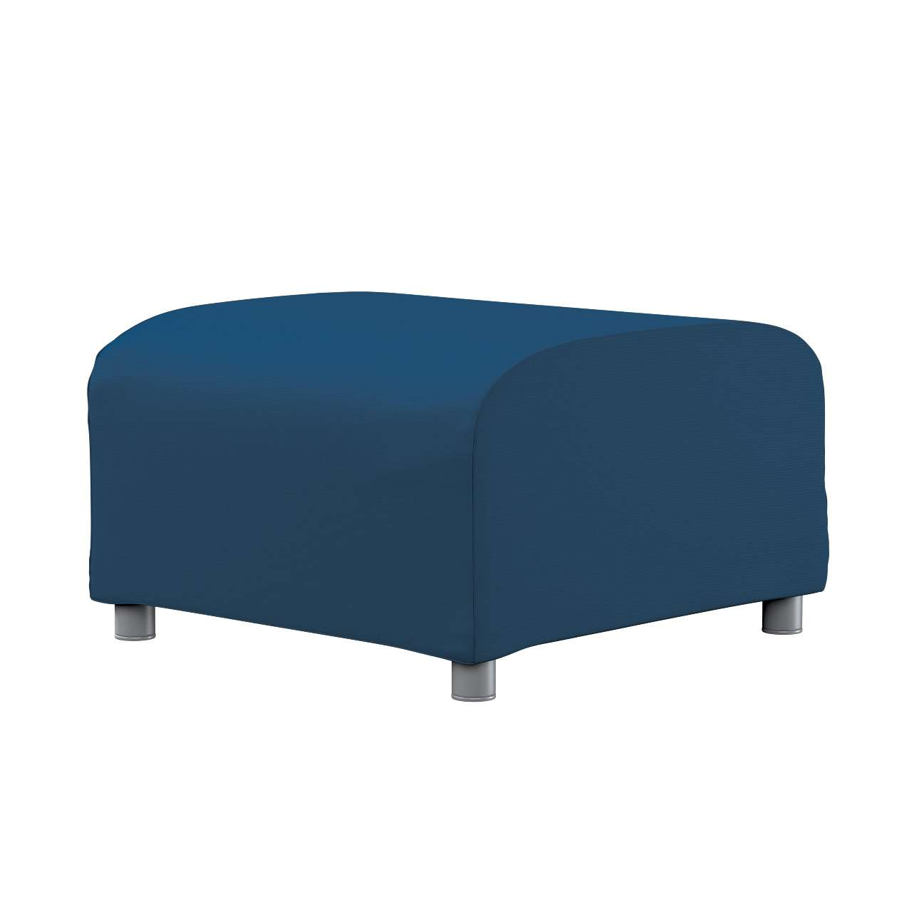 KLIPPAN pufo užvalkalas Klippan footstool cover kolekcijoje Cotton Panama, audinys: 702-30