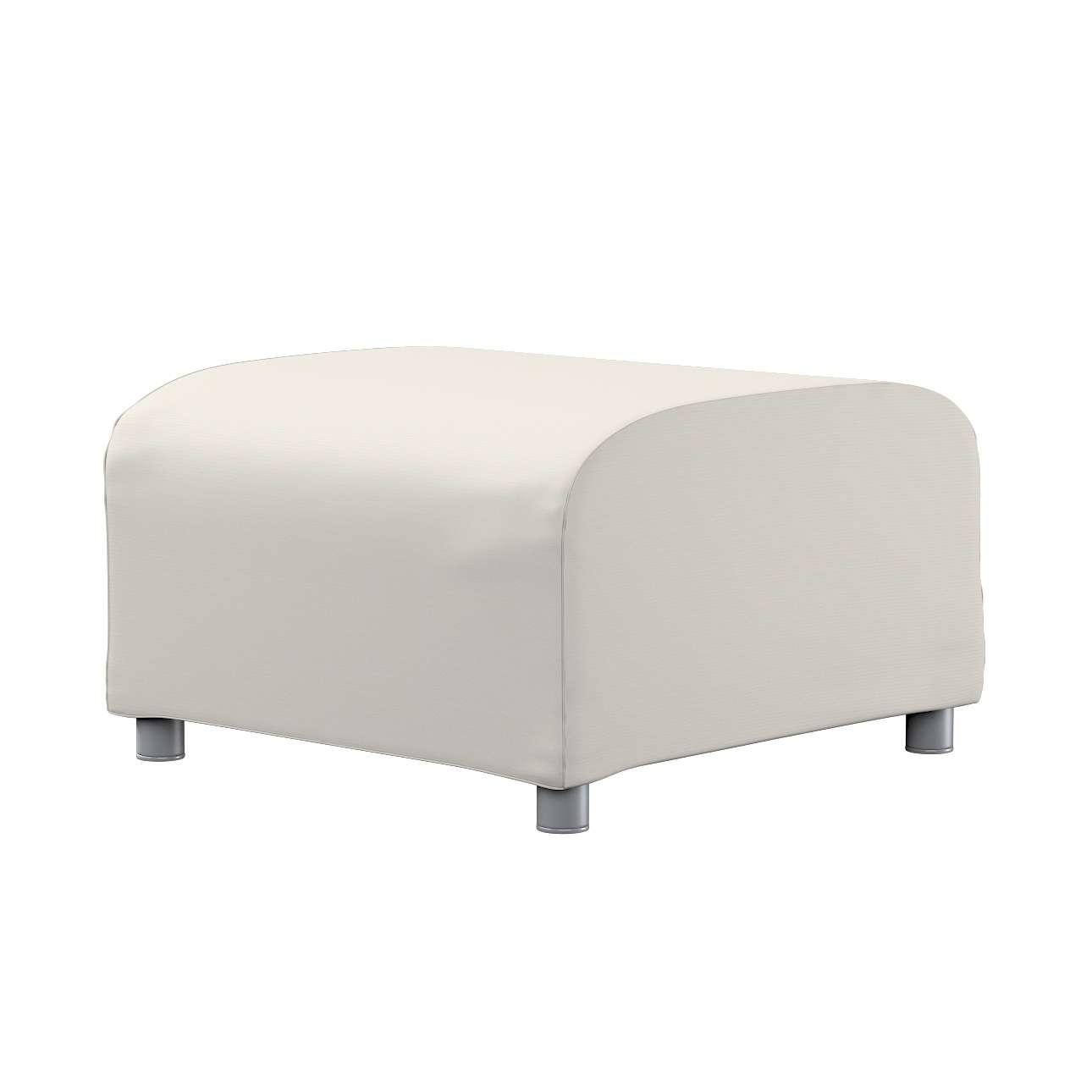 KLIPPAN pufo užvalkalas Klippan footstool cover kolekcijoje Cotton Panama, audinys: 702-31