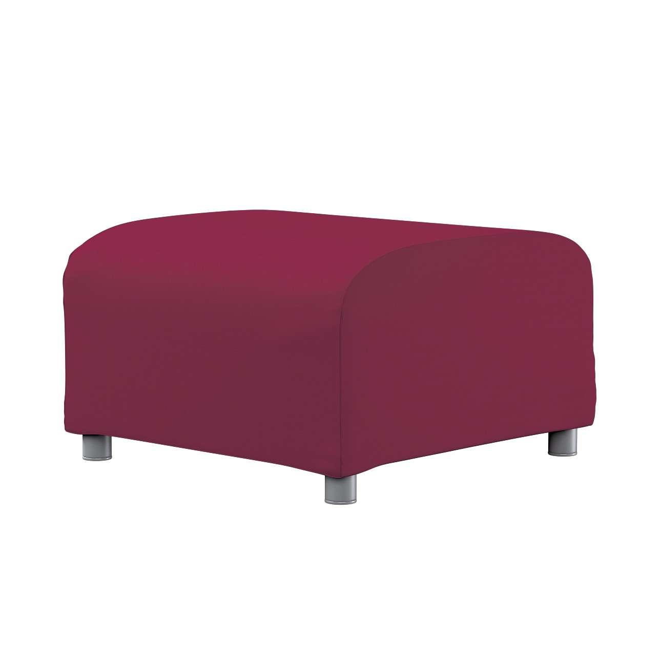 KLIPPAN pufo užvalkalas Klippan footstool cover kolekcijoje Cotton Panama, audinys: 702-32
