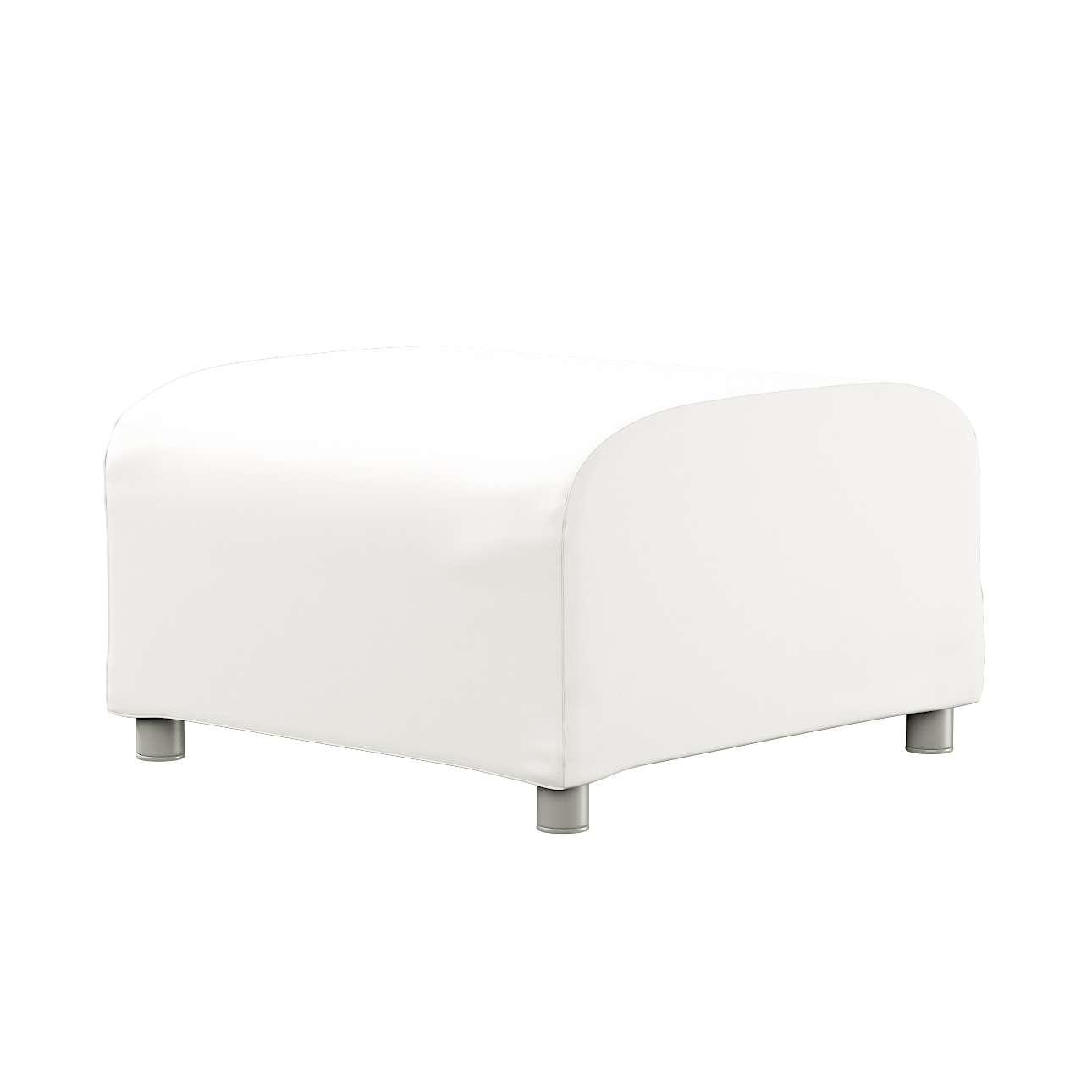 KLIPPAN pufo užvalkalas Klippan footstool cover kolekcijoje Cotton Panama, audinys: 702-34
