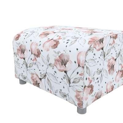 Pokrowiec na podnóżek Klippan w kolekcji Velvet, tkanina: 704-50