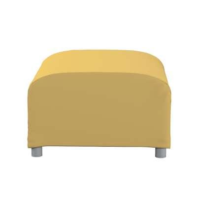 Pokrowiec na podnóżek Klippan 702-41 zgaszony żółty Kolekcja Cotton Panama