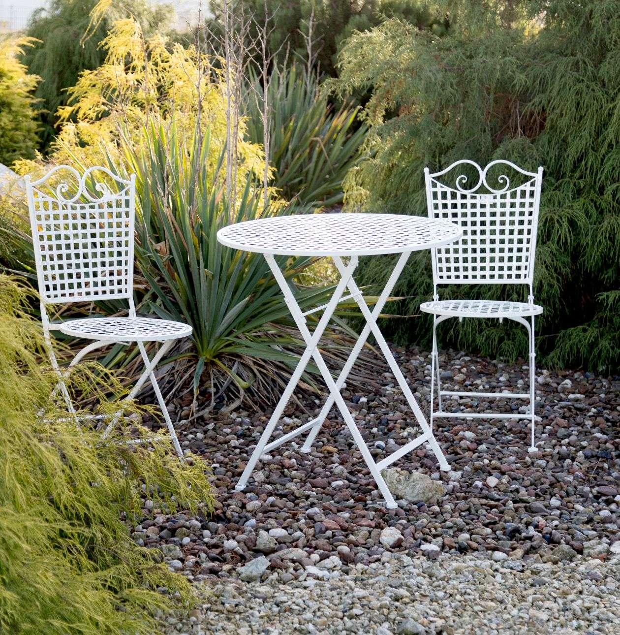 Dekoria Zestaw ogrodowy Felice stolik + krzesła