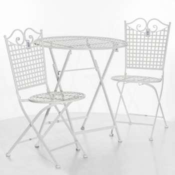 Zestaw ogrodowy Felice stolik + krzesła