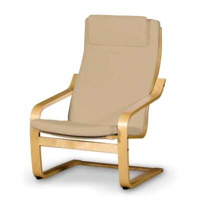 Poäng II  fotelio užvalkalas (su nuimama pagalvėle) 702-01 smėlio/kapučino Kolekcija Cotton Panama
