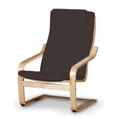Sedák na křeslo IKEA Poäng II 702-03 Coffe - tmavá čokoláda  Kolekce Cotton Panama