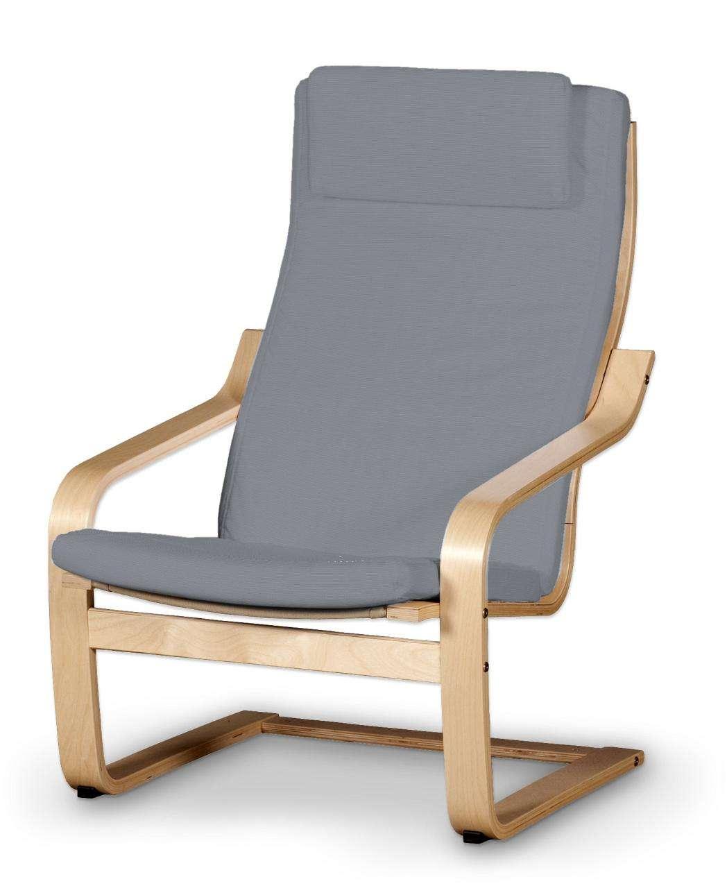 Poduszka na fotel Poäng II Fotel Poäng II w kolekcji Cotton Panama, tkanina: 702-07