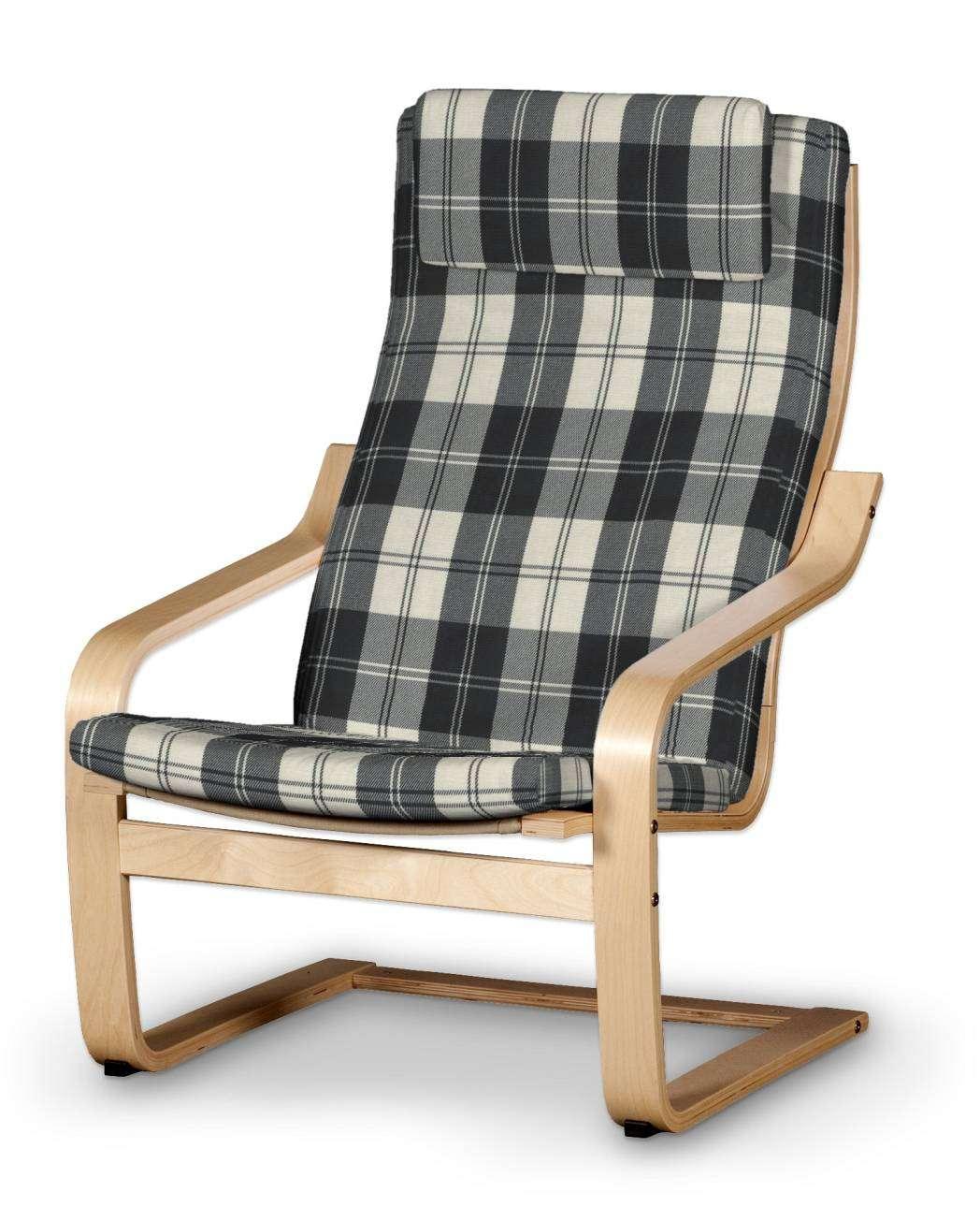Poäng II  fotelio užvalkalas (su nuimama pagalvėle) Poäng II fotelis su nuimama pagalvėle kolekcijoje Edinburgh , audinys: 115-74