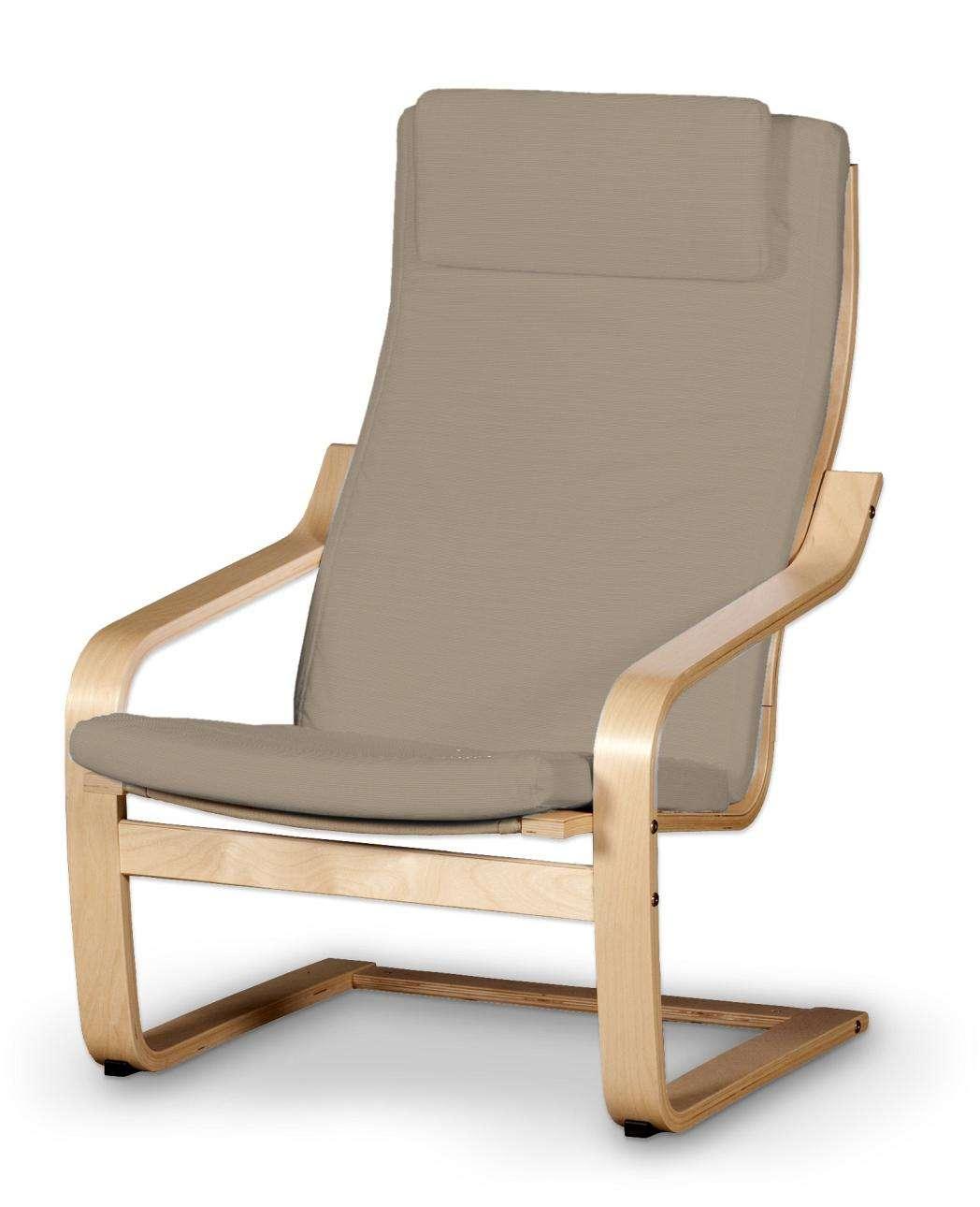 Poäng II  fotelio užvalkalas (su nuimama pagalvėle) Poäng II fotelis su nuimama pagalvėle kolekcijoje Cotton Panama, audinys: 702-28
