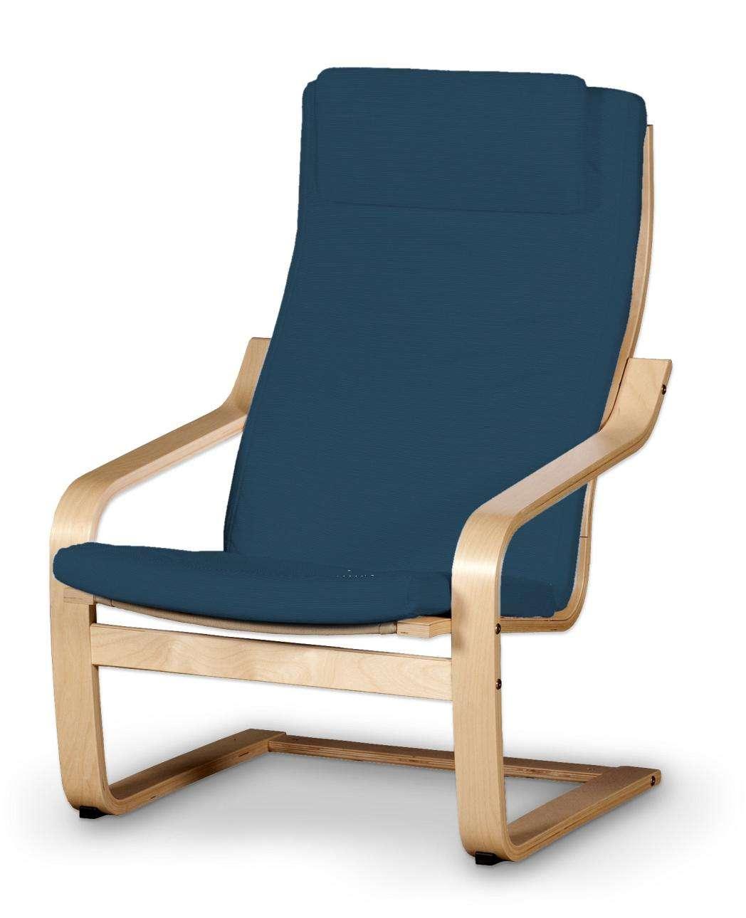 Poduszka na fotel Poäng II Fotel Poäng II w kolekcji Cotton Panama, tkanina: 702-30