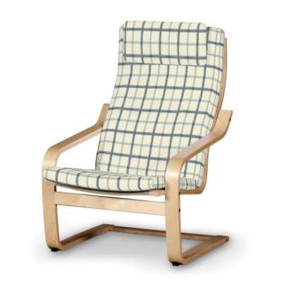 Poduszka na fotel Poäng II w kolekcji Avinon, tkanina: 131-66