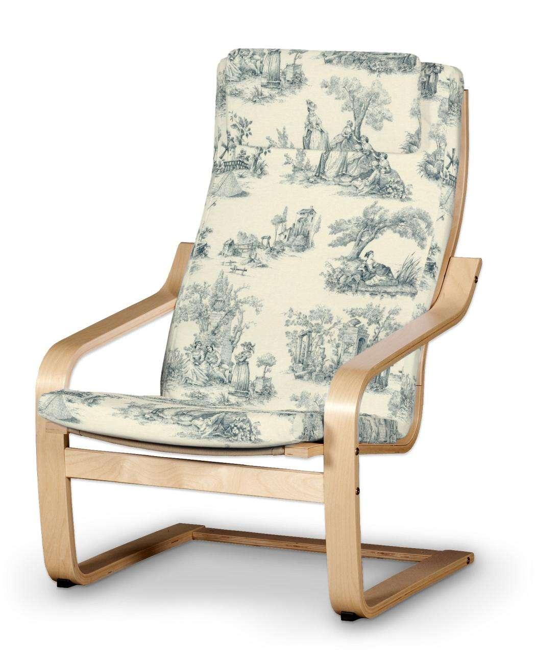 Poduszka na fotel Poäng II Fotel Poäng II w kolekcji Avinon, tkanina: 132-66