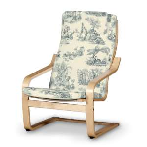Poäng II  fotelio užvalkalas (su nuimama pagalvėle) Poäng II fotelis su nuimama pagalvėle kolekcijoje Avinon, audinys: 132-66