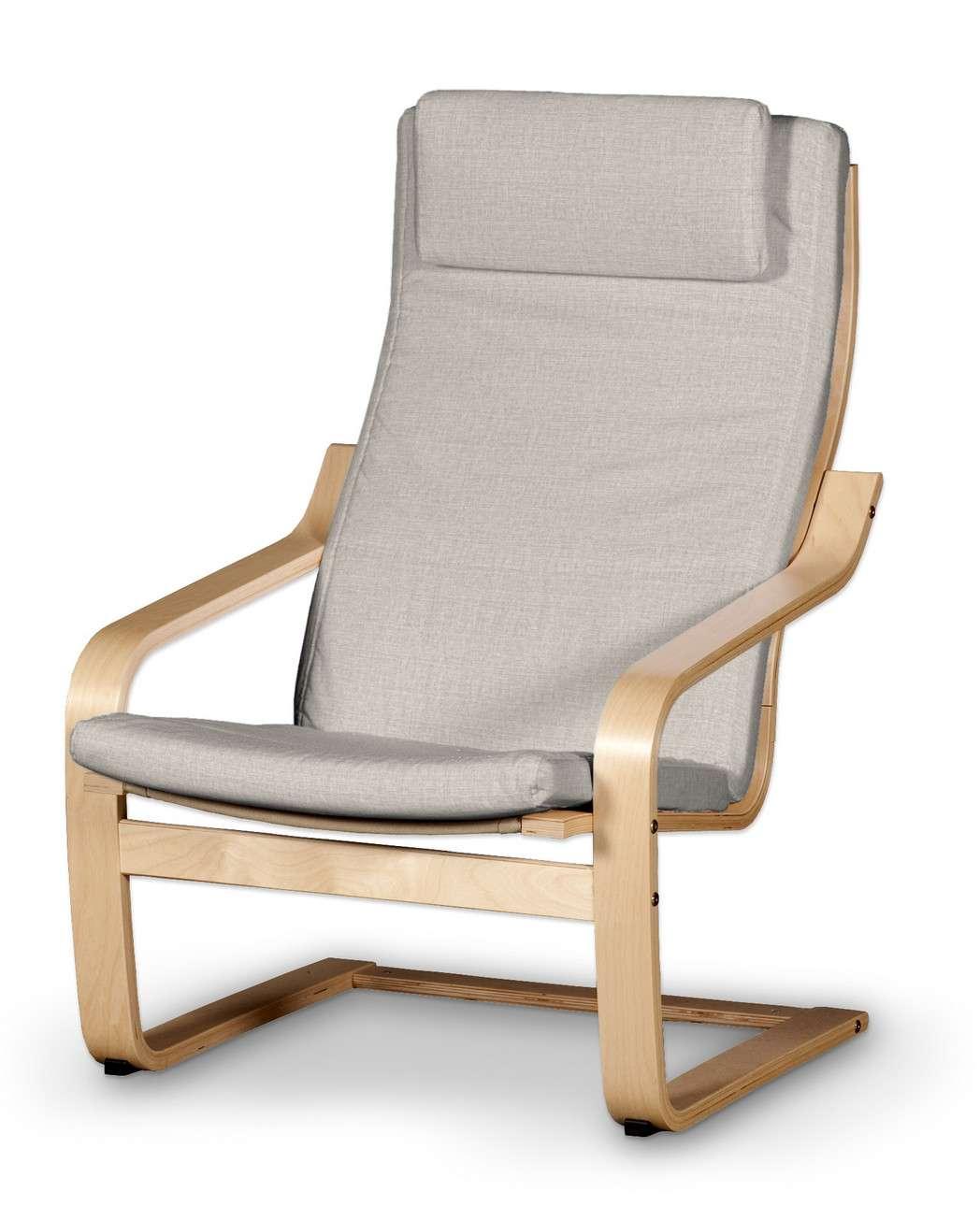 Poduszka na fotel Poäng II w kolekcji Living, tkanina: 161-00