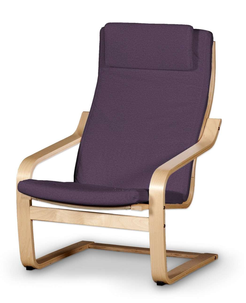 Poduszka na fotel Poäng II w kolekcji Etna, tkanina: 161-27