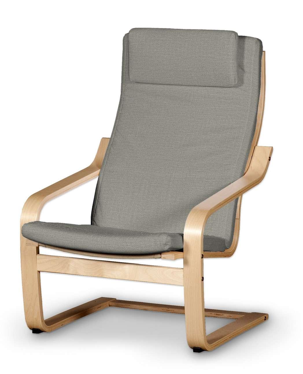 Poduszka na fotel Poäng II w kolekcji Bergen, tkanina: 161-83