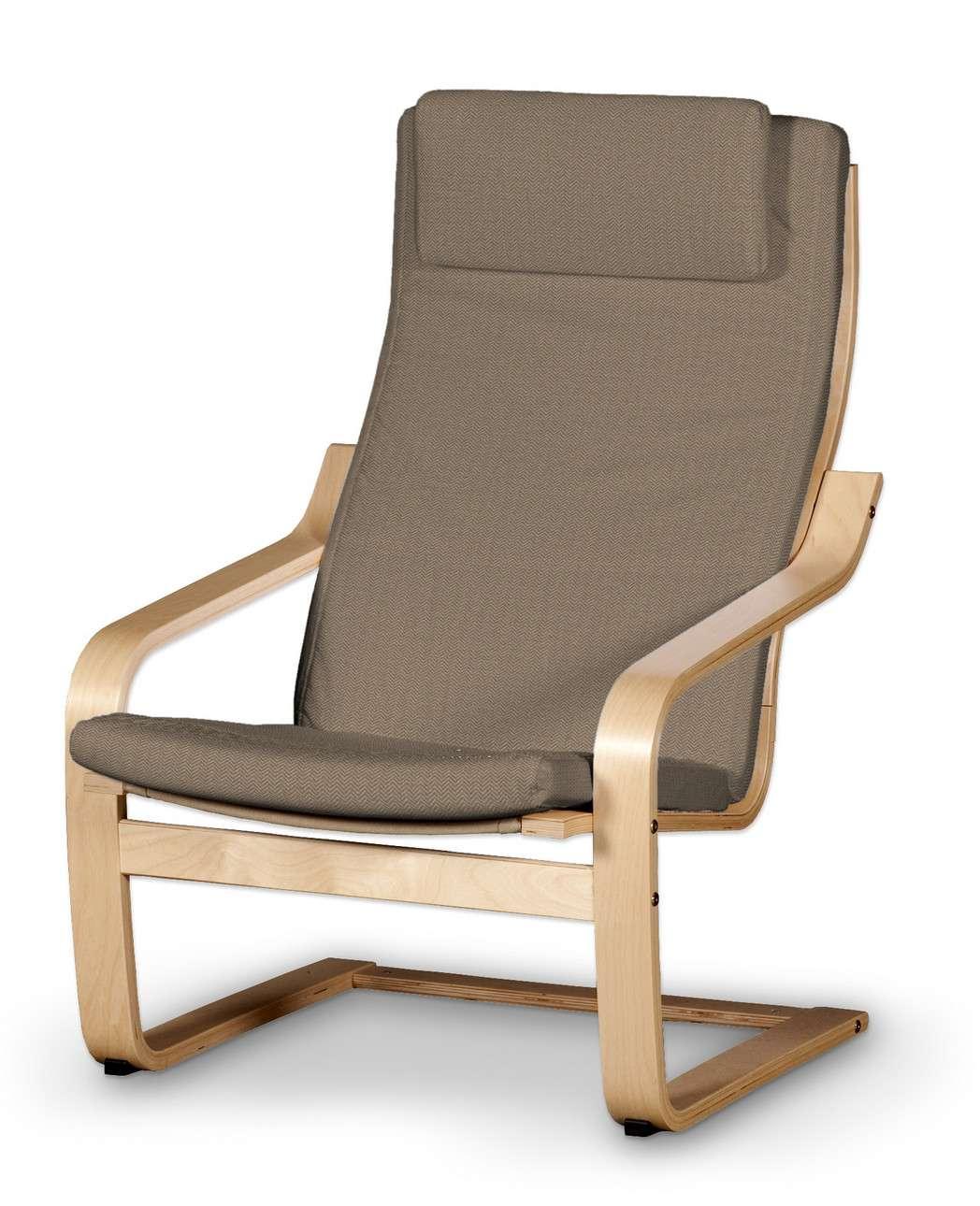 Poduszka na fotel Poäng II w kolekcji Bergen, tkanina: 161-85