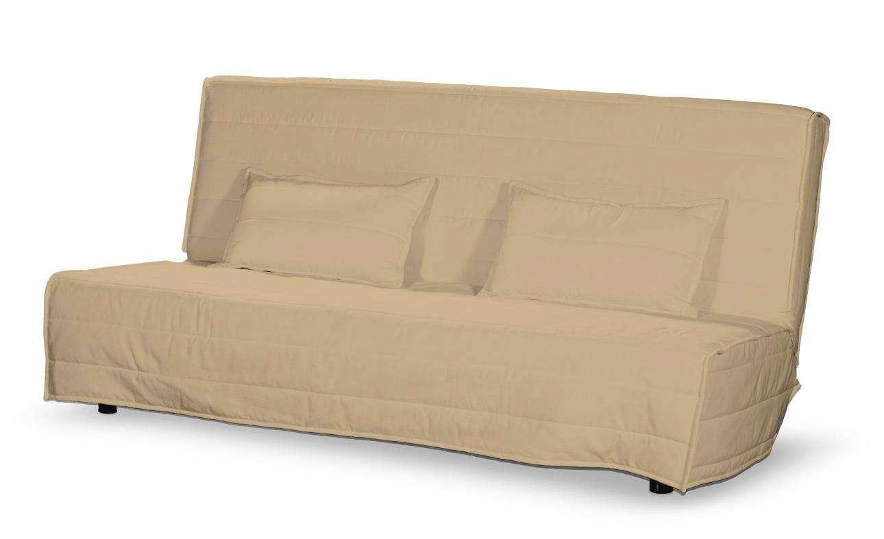 Pokrowiec na sofę Beddinge długi i 2 poszewki Sofa Beddinge w kolekcji Cotton Panama, tkanina: 702-01