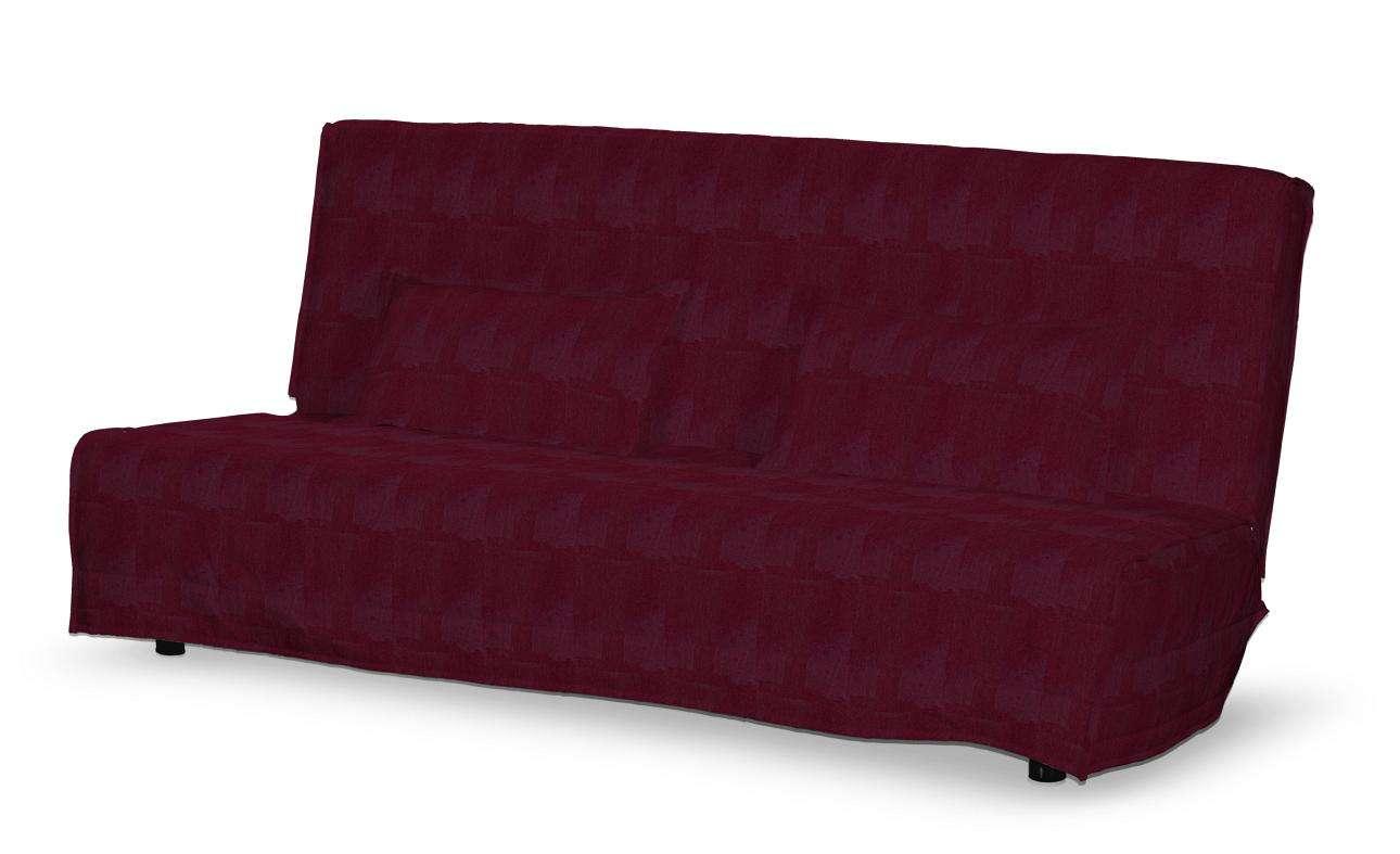 Beddinge quiltet betræk til sovesofa, lang, med 2 quiltede pudebetræk fra kollektionen Chenille, Stof: 702-19