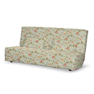 Tikattu päiväpeitto vuodesohvaan, pitkä, 2 tikattua tyynynpäällistä
