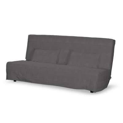 Floor length quilted Beddinge sofa bed cover
